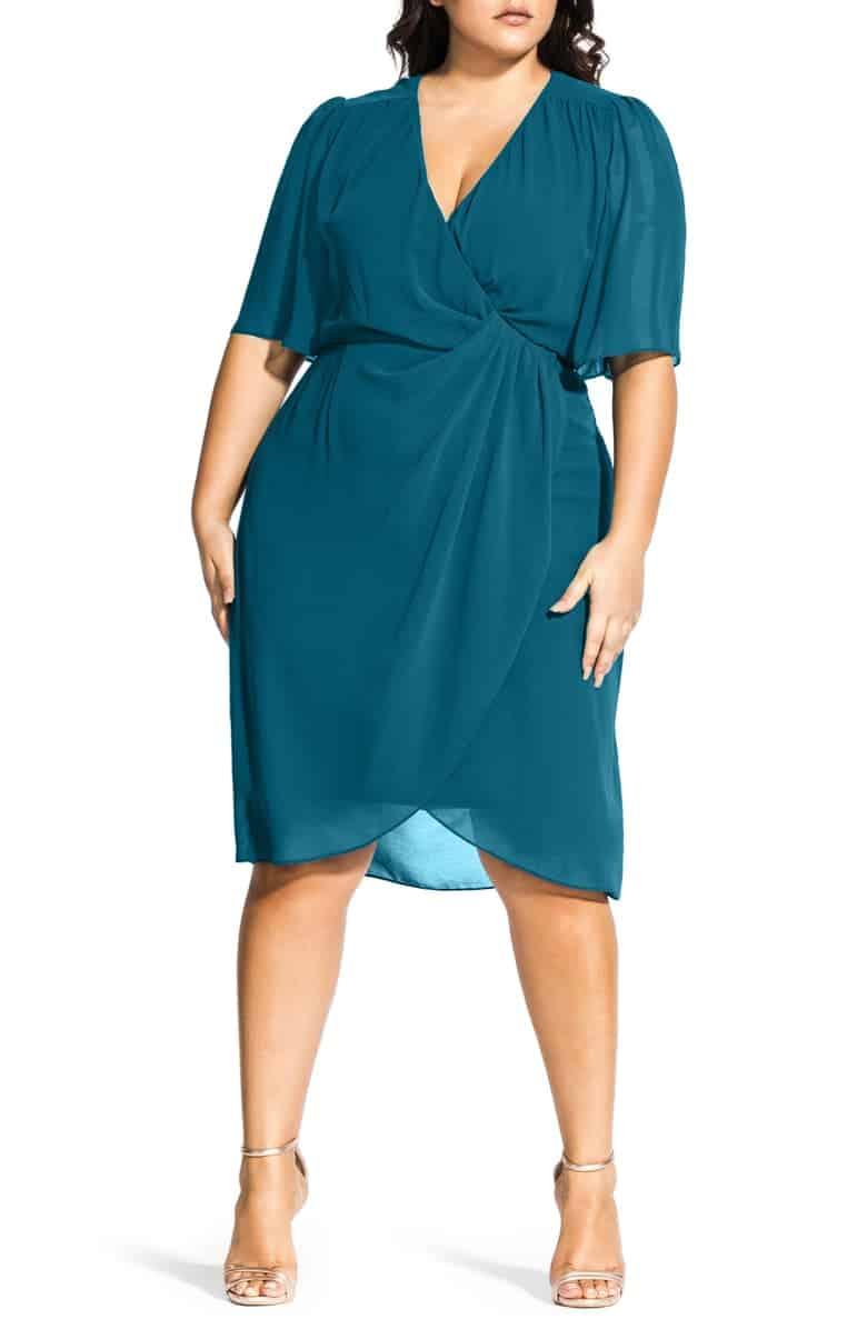 Thanksgiving Dresses Plus Size Women: Twist Love Dress