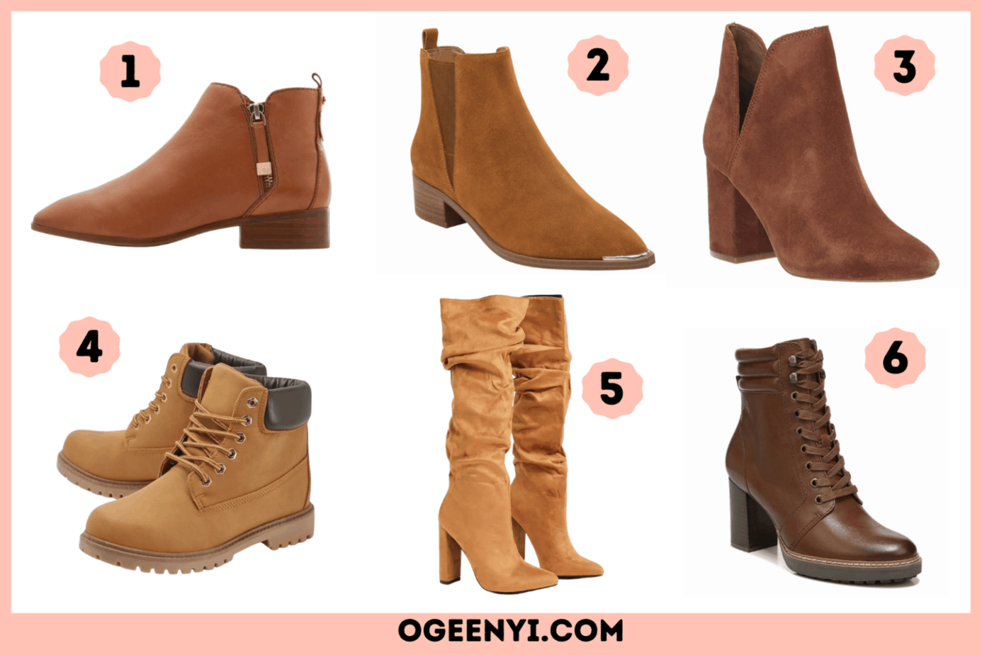 25 Cute Boots for Autumn/Fall