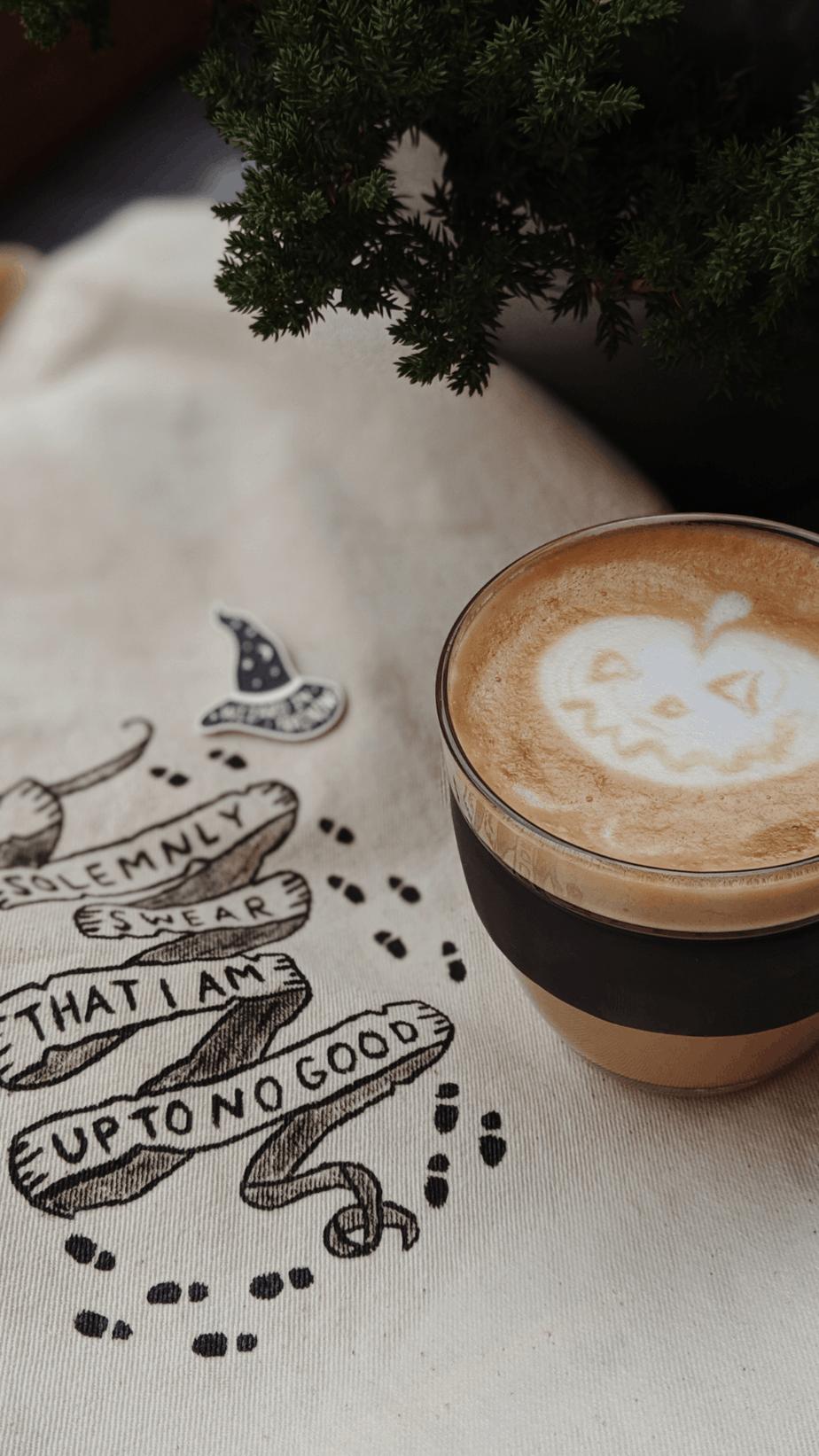 Halloween Coffee Wallpaper