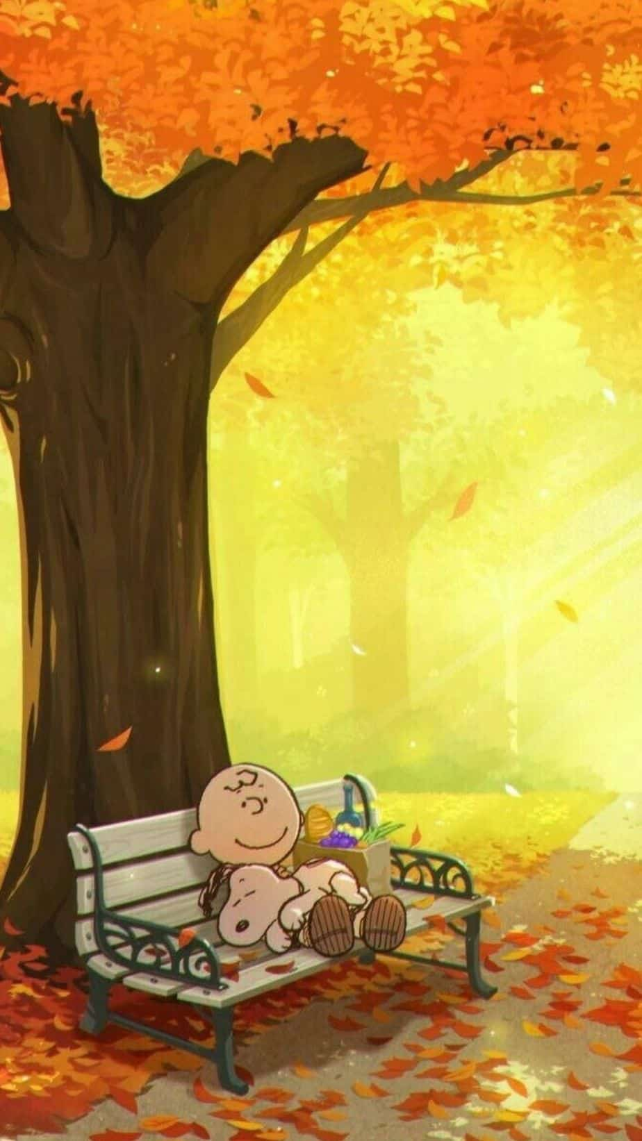 Snoopy Fall Wallpaper.You can always make your iPhone look aesthetic with cute wallpapers, these 40 beautiful and aesthetic autumn fall wallpapers for your iPhone will make you feel that autumnal fall vibes.