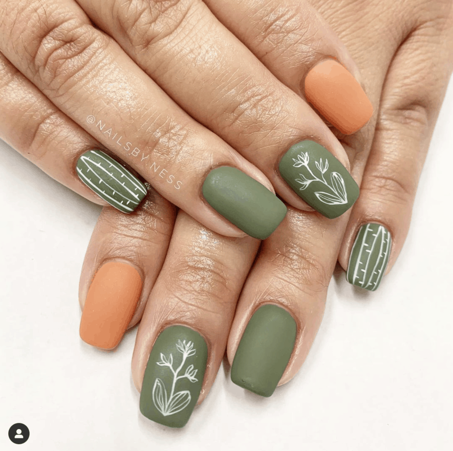 35 Fall Nails Designs That Are Cute And Super Trendy