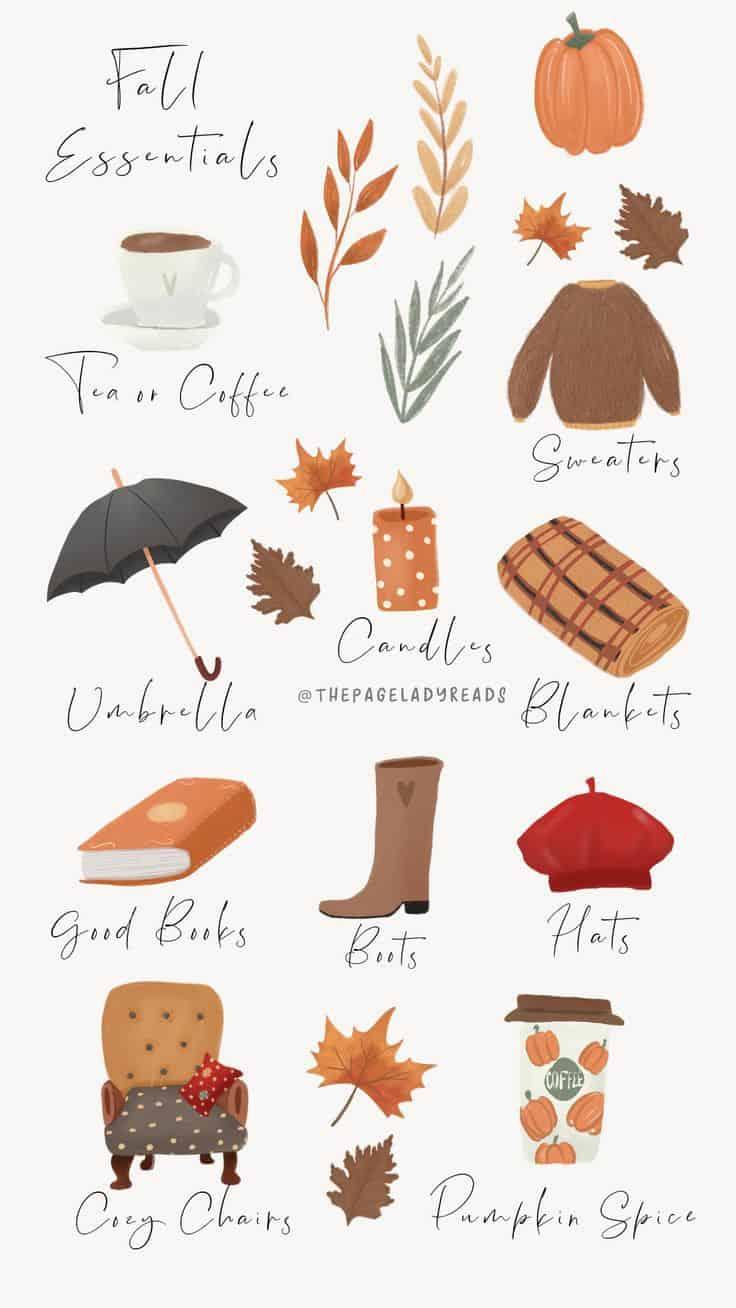 Fall Essentials List Wallpaper